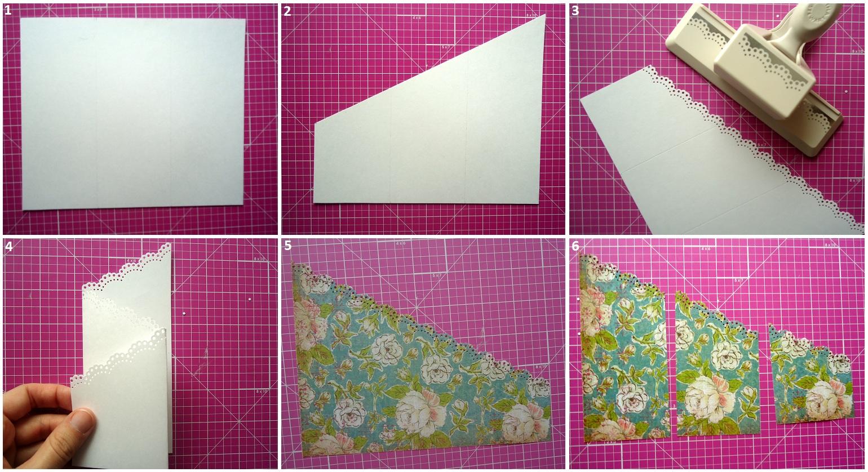 Изготовление фигурной открытки 23