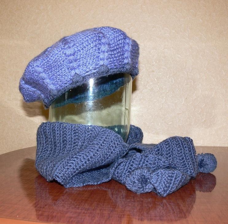 Плетение ковриков спицами 3