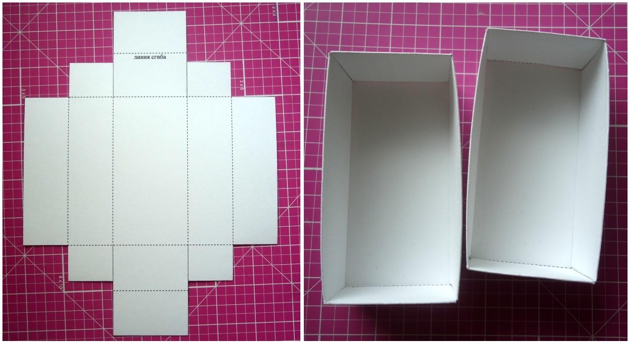 Як зробить коробку своими руками