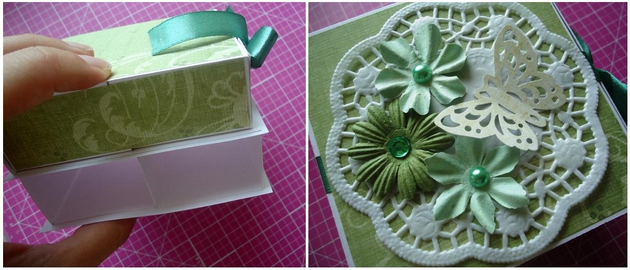 Как сделать шкатулку из бумаги для бижутерии