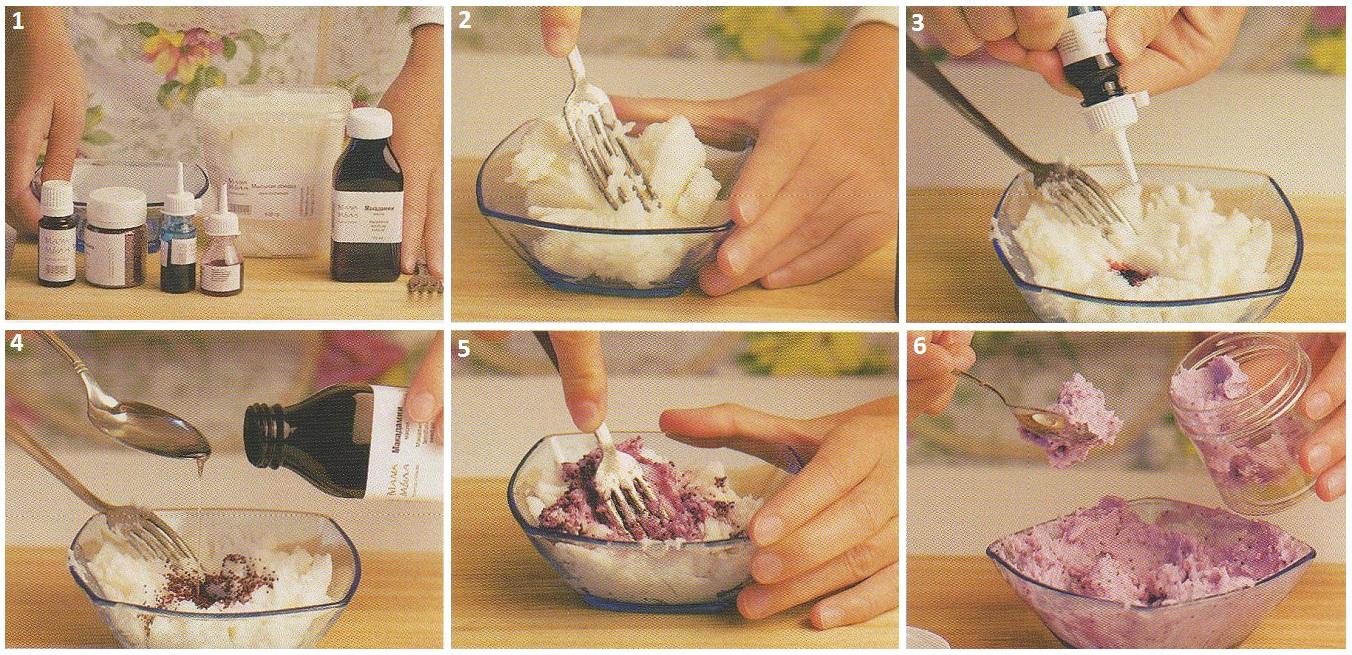 Мыло скраб в домашних условиях рецепты