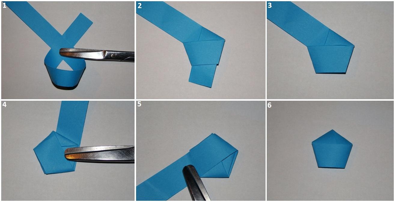 Как сделать звёздочки из бумаги 287