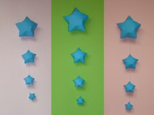 Фото звёздочки из бумаги своими руками