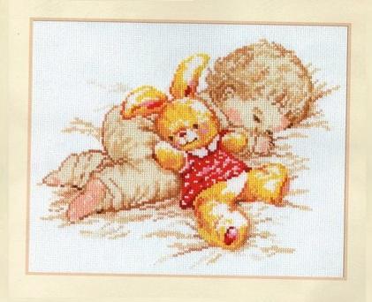 Вышивка крестом схема дочурка