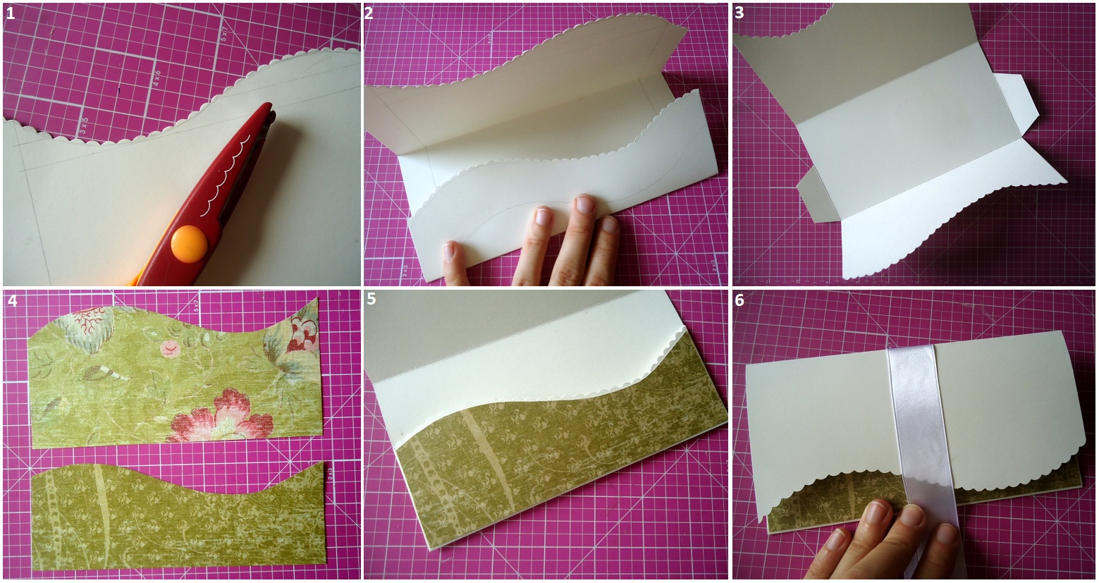 Как сделать конверт скрапбукинг 273