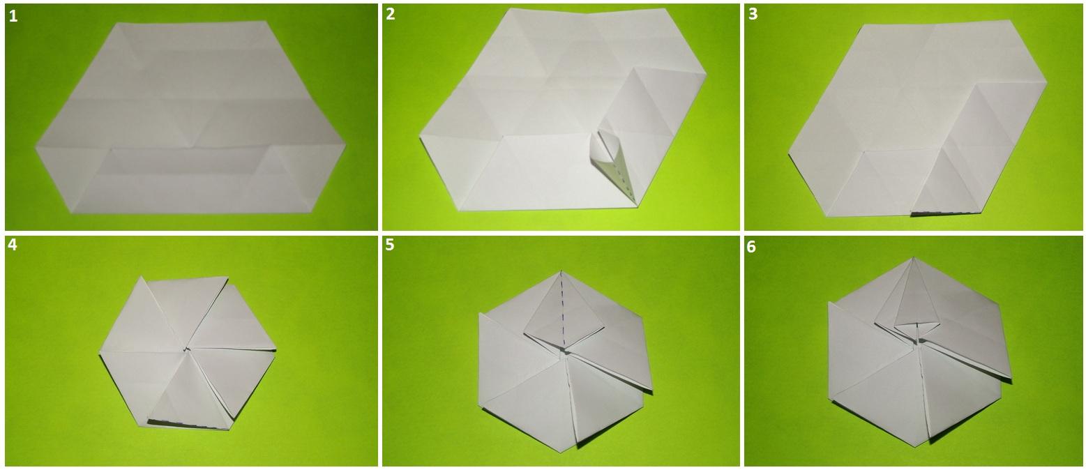 Оригами кармашек схемы