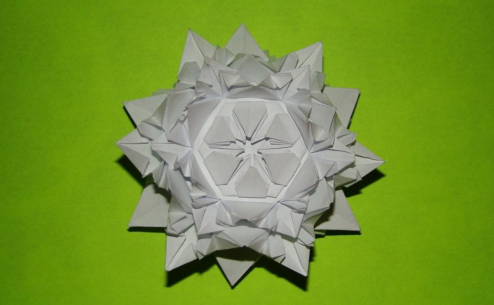 Белые цветы своими руками оригами