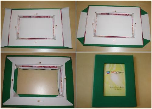 Оригинальные рамки  из картона