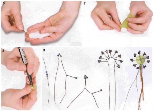 Цветы из капрона своими руками мастер класс для начинающих 24