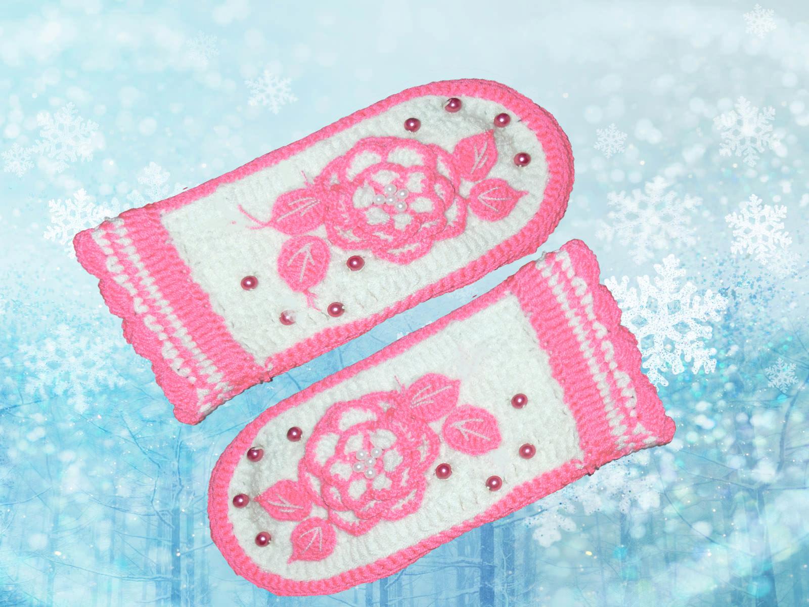 варежки вязание для детей в рукоделии