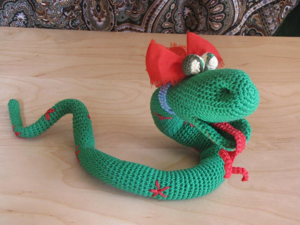 Змея новый год своими руками