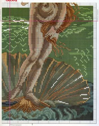 Вышивка Венеры