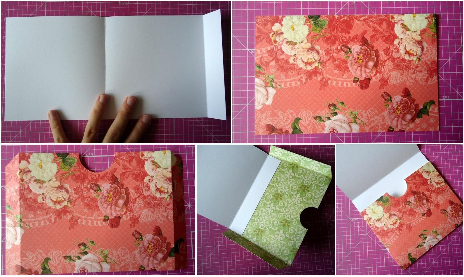 Как сделать из открыток что нибудь
