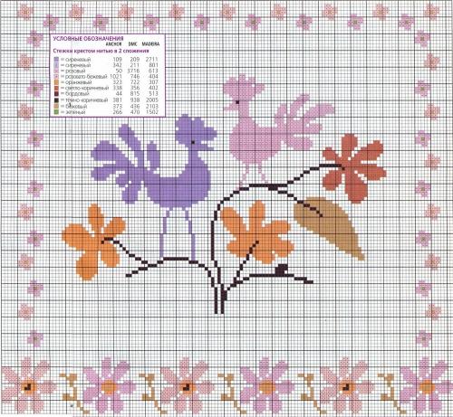 Схемы вышивки крестом на liveinternet 86