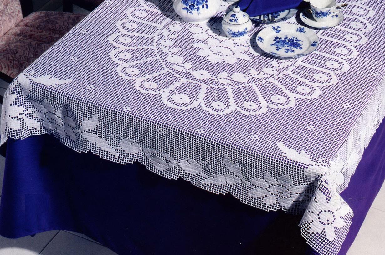 филейное вязание крючком вязание для дома в рукоделии