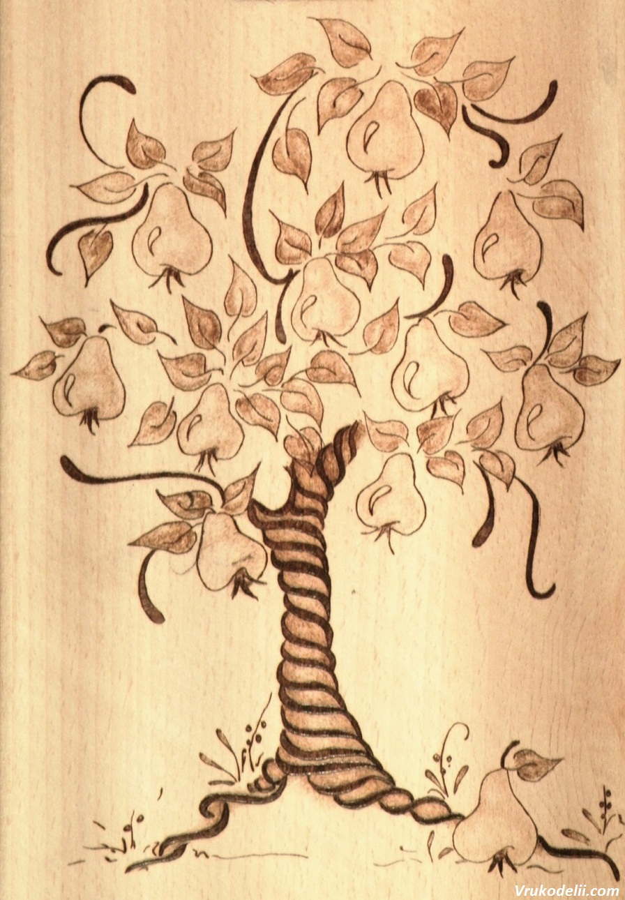 Как перенести фото на дерево Домашний мастер 48