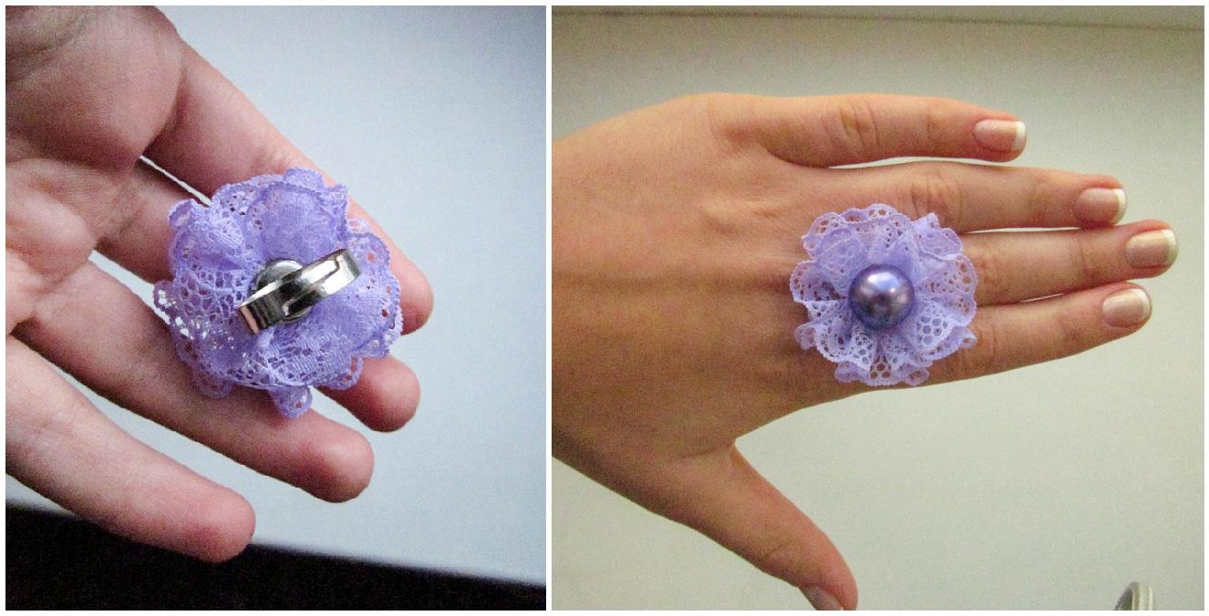 Кольца своими руками из ткани