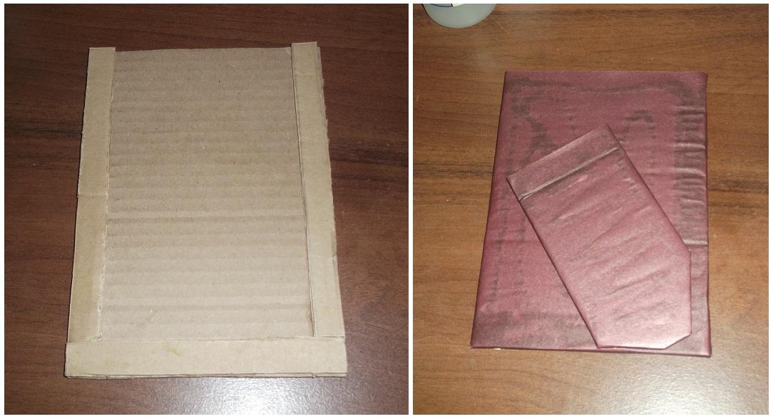 Рамки для своими руками из цветного картона