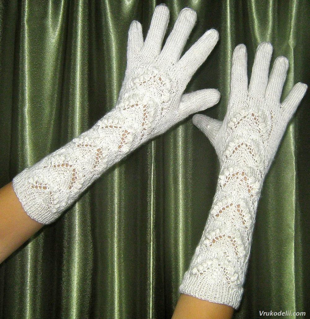 женские перчатки вязание для женщин в рукоделии