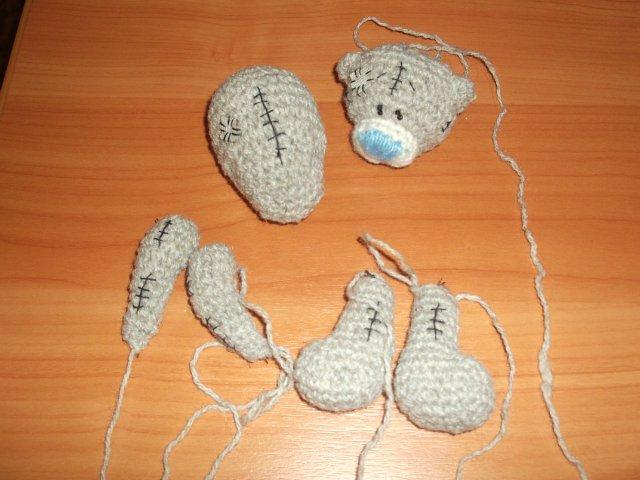 Мишка тедди вязание мастер класс