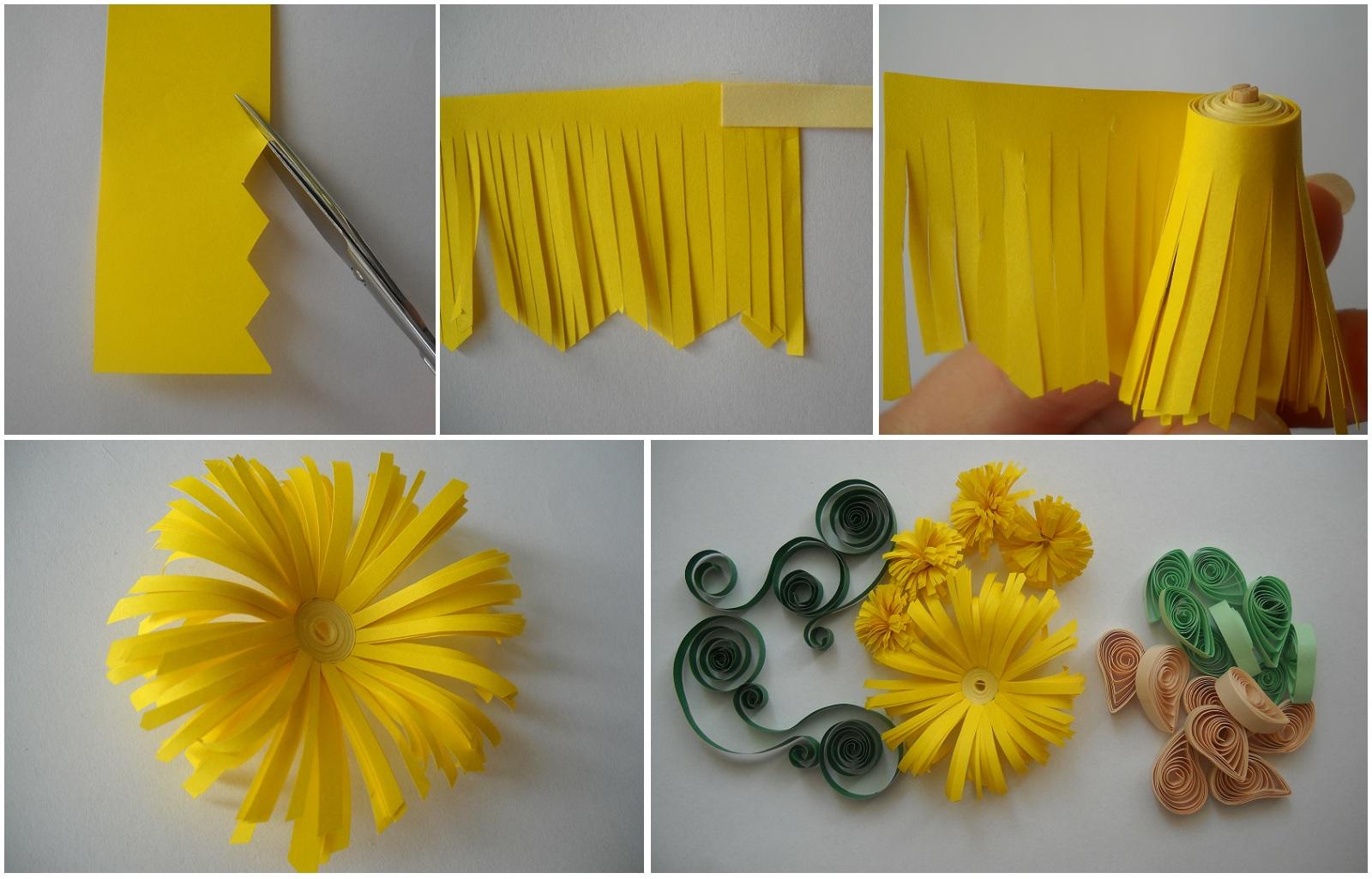 Цветы из бумаги своими руками пошаговое фото цветы