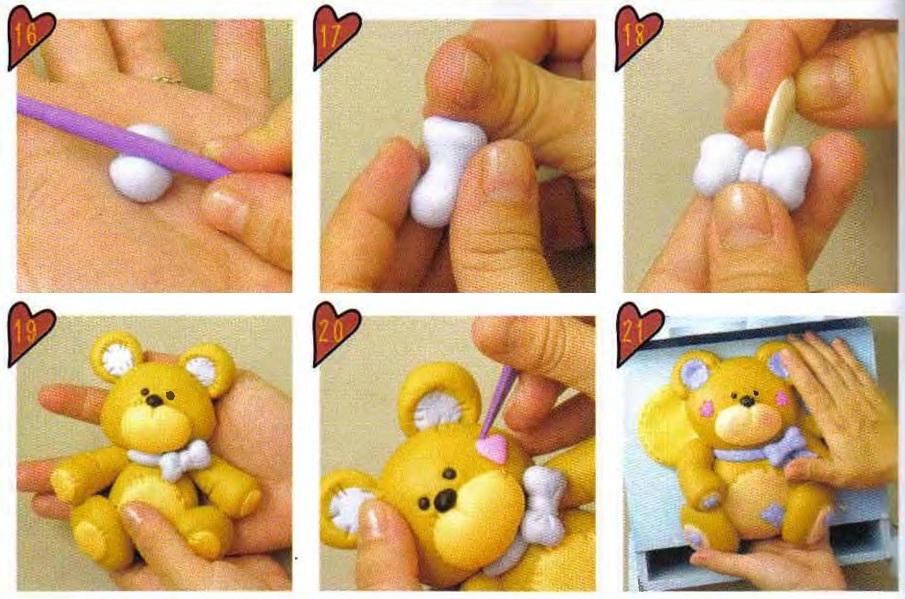 Как сделать мишек своими руками пошагово