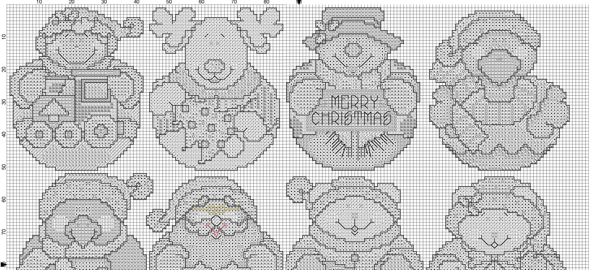 вышиваю крестиком схема 5 93 2012