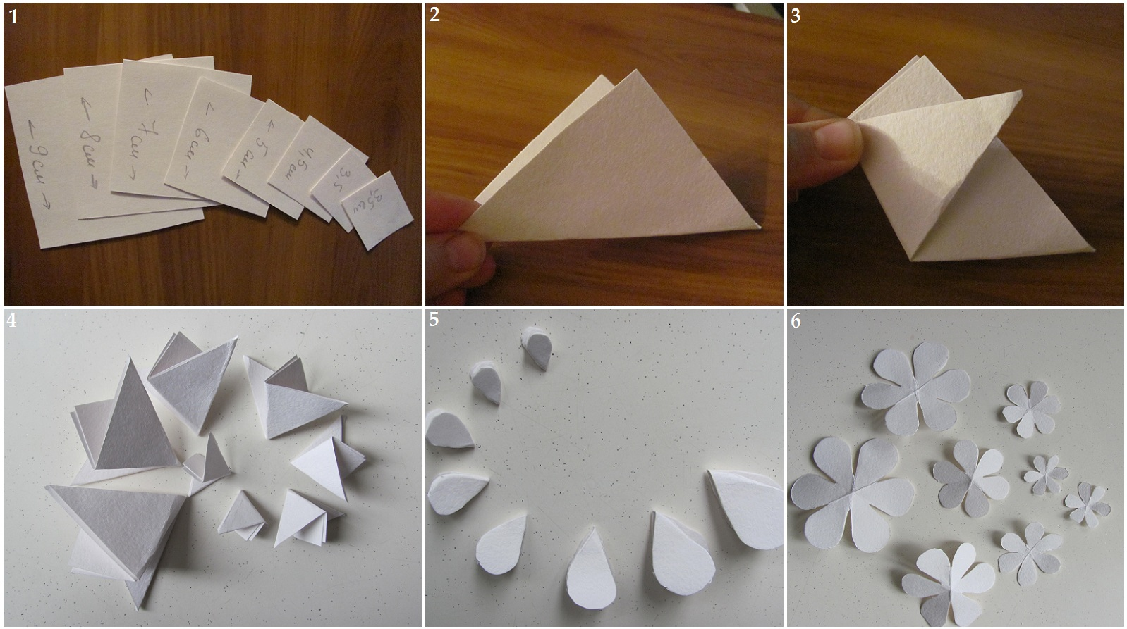 Цветок из бумаги вырезать