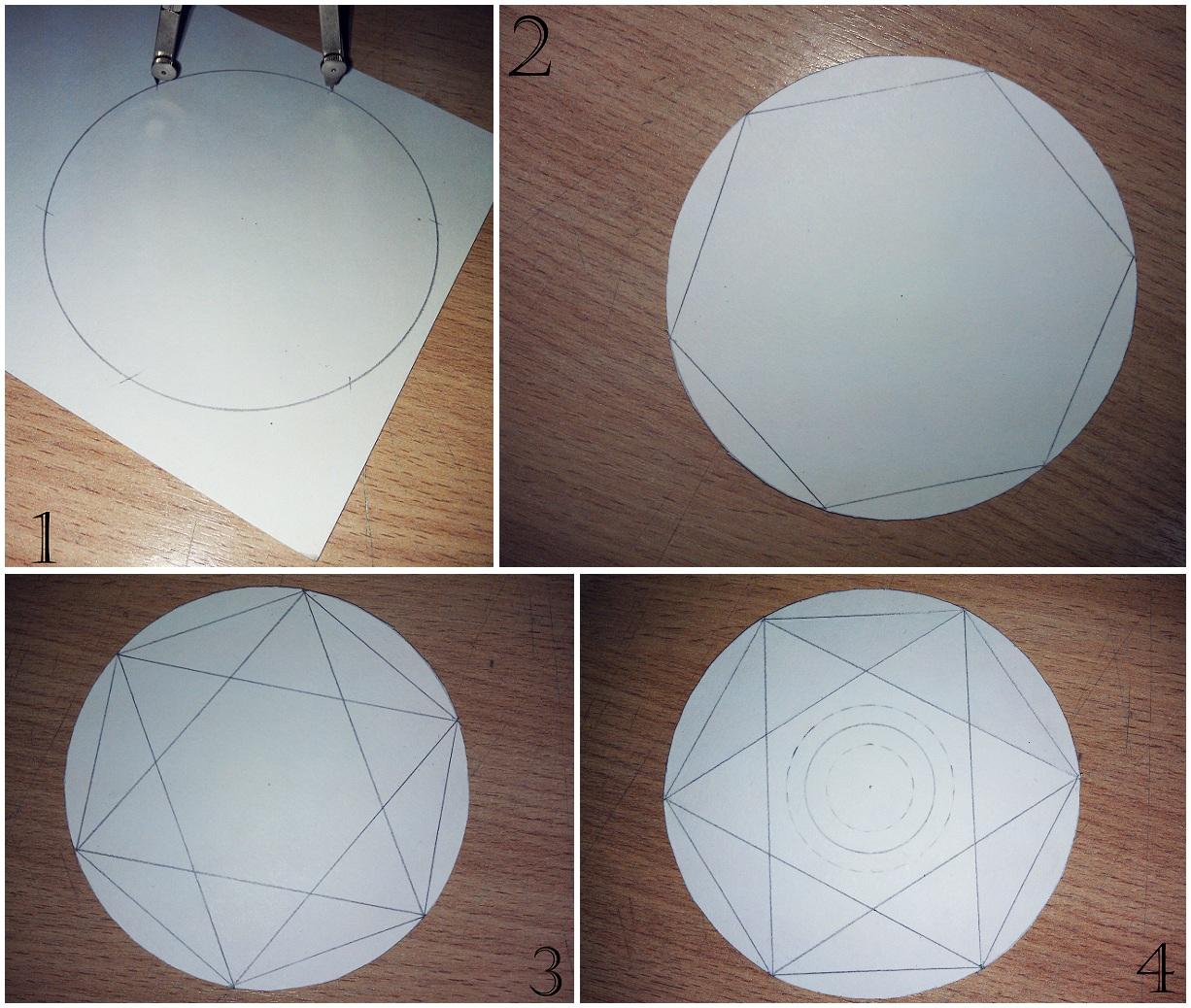 Как сделать круг на фото а в нем надпись