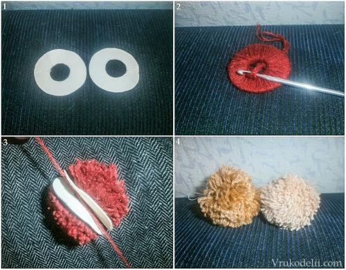 Как сделать бубенчик из нитки 372