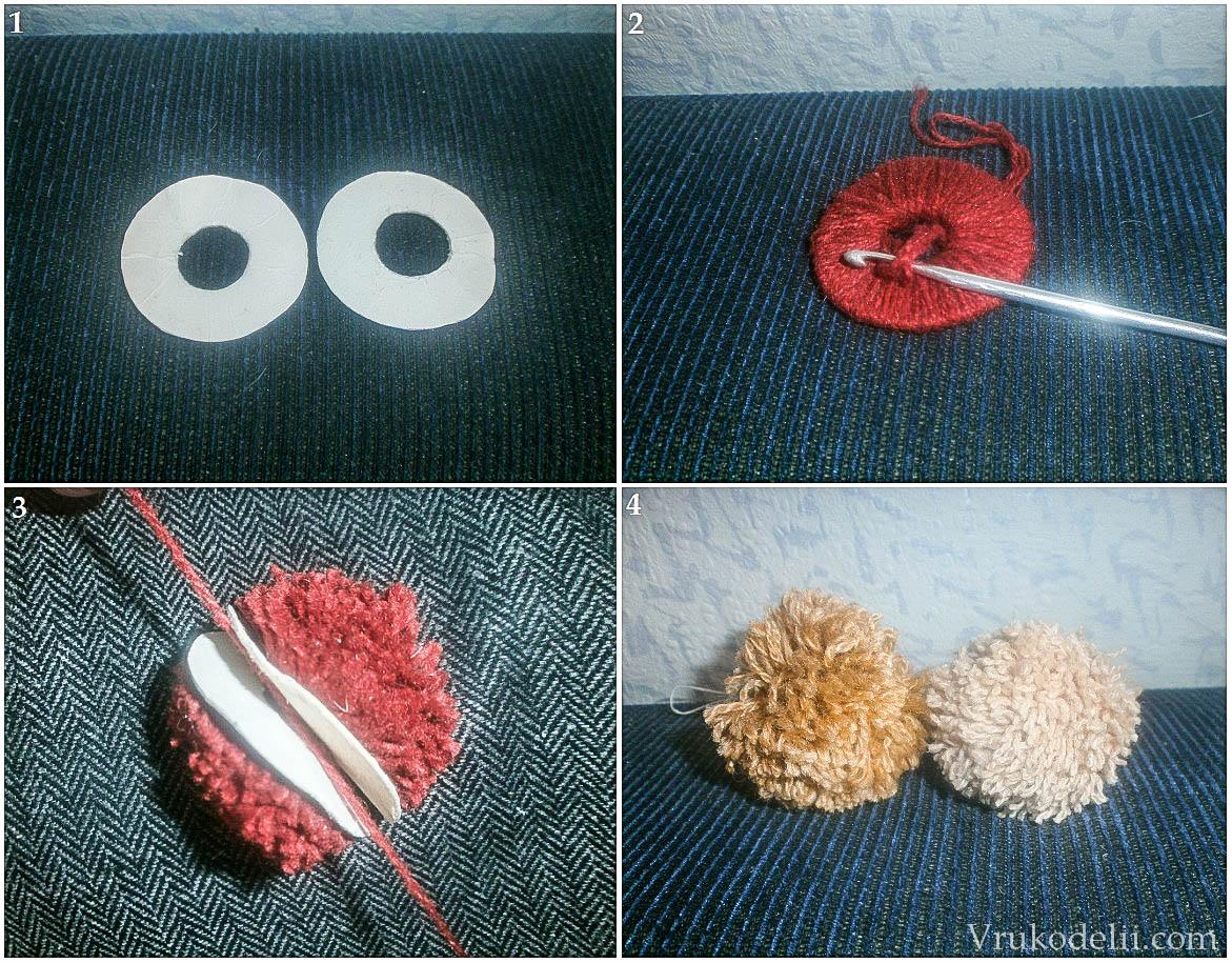 Как сделать бубенчики из ниток своими руками