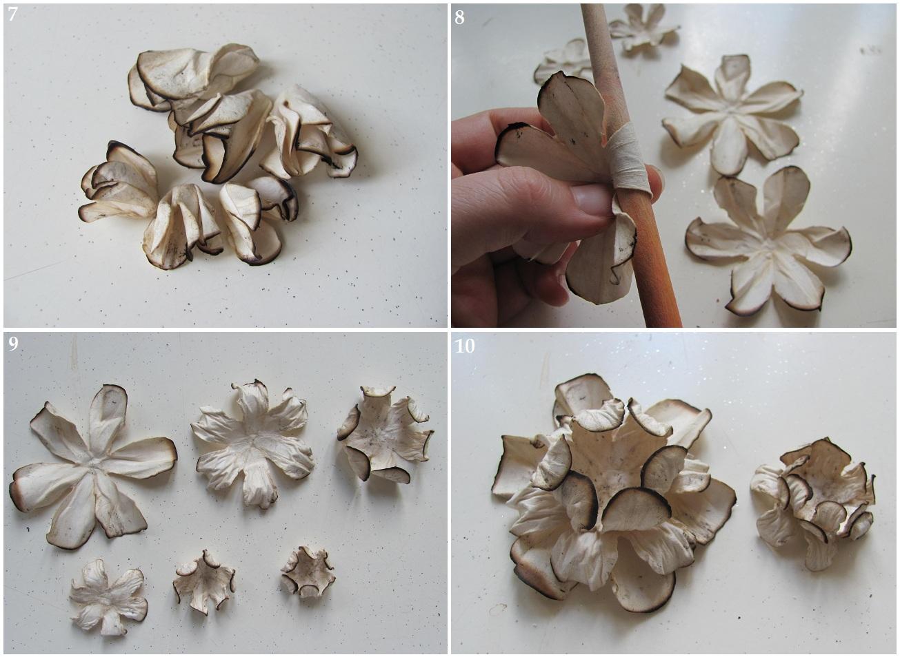 Как сделать цветы из акварельной бумаги своими руками