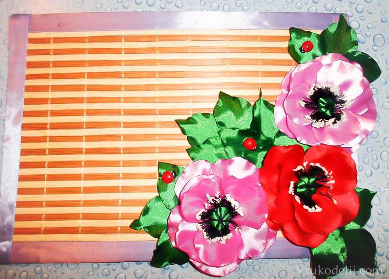 Материал для ободков с цветами