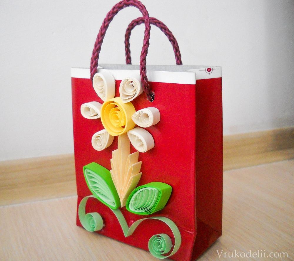 Красивый пакетик - Красивый пакетик для подарков своими руками