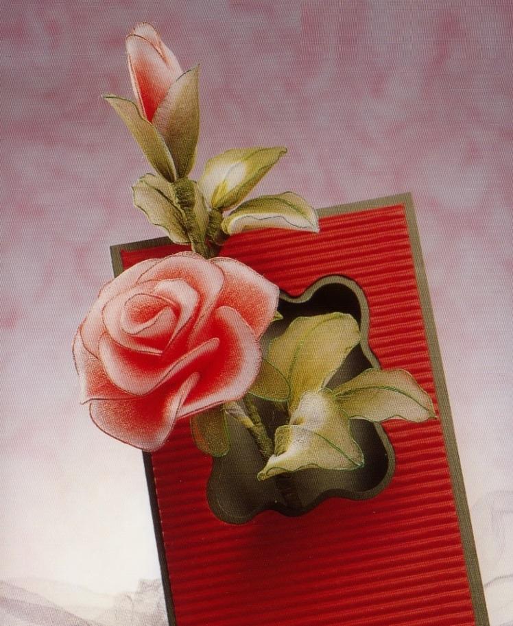 Розы из капрона своими руками мастер класс фото 75
