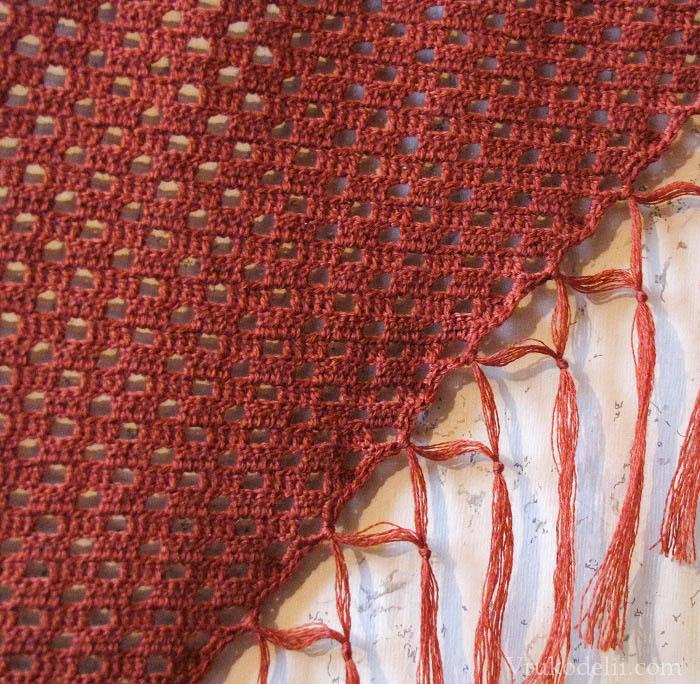 Кисти на шарф своими руками 67