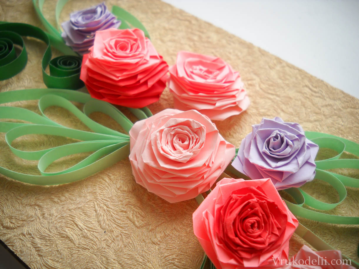 Браслеты с розами своими руками фото 599