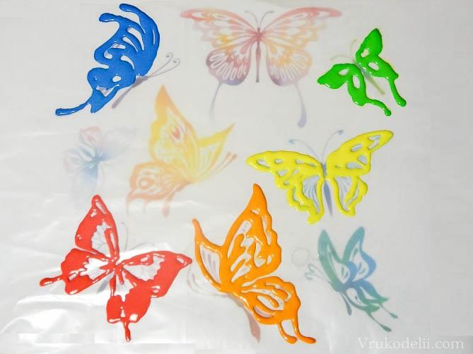 Крылья для бабочек рисовать
