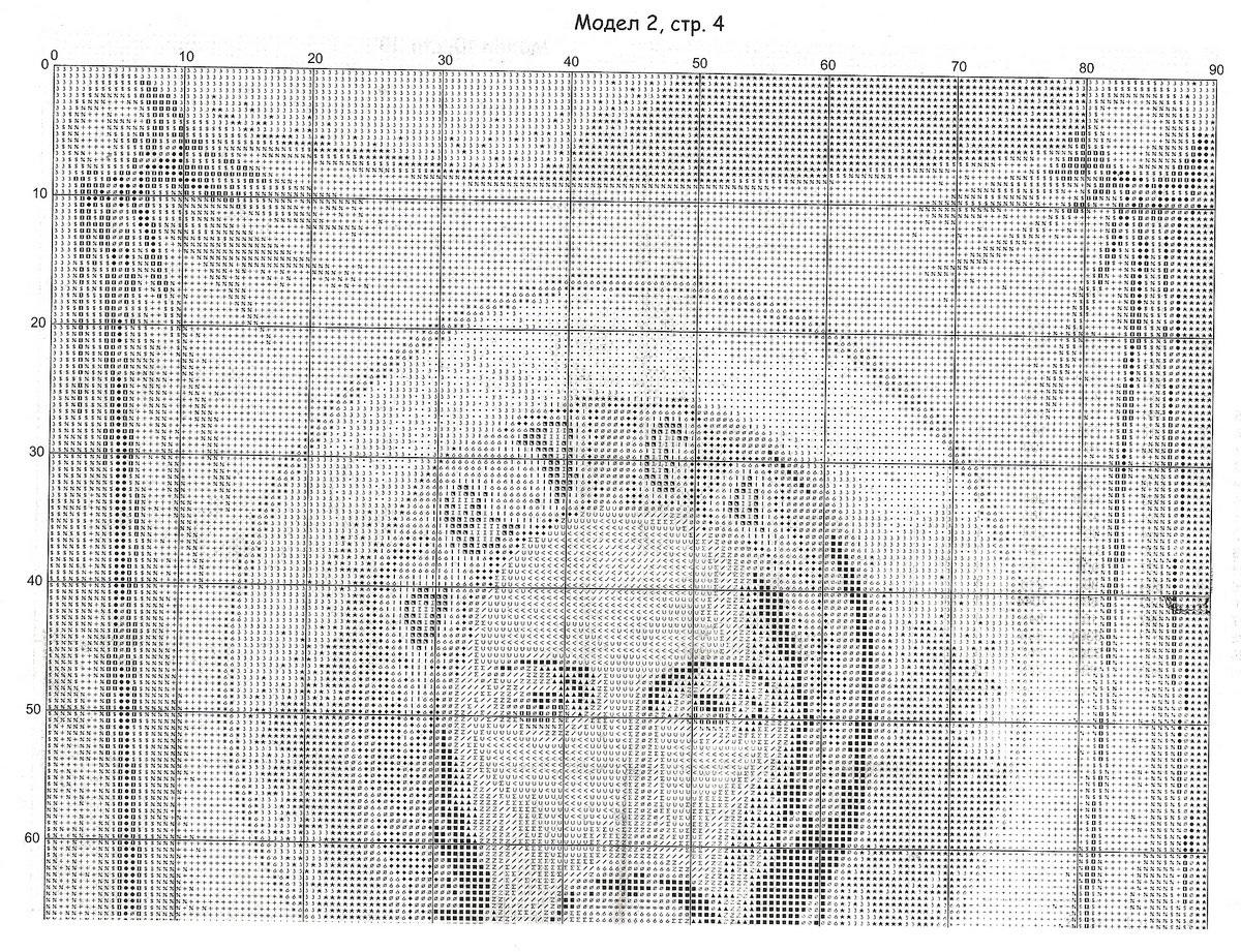 схема вышивки крестиком иисус монохром