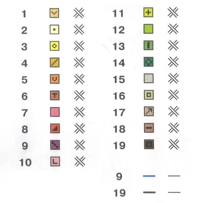 Как при вязании переходить от одного цвета к другому 202