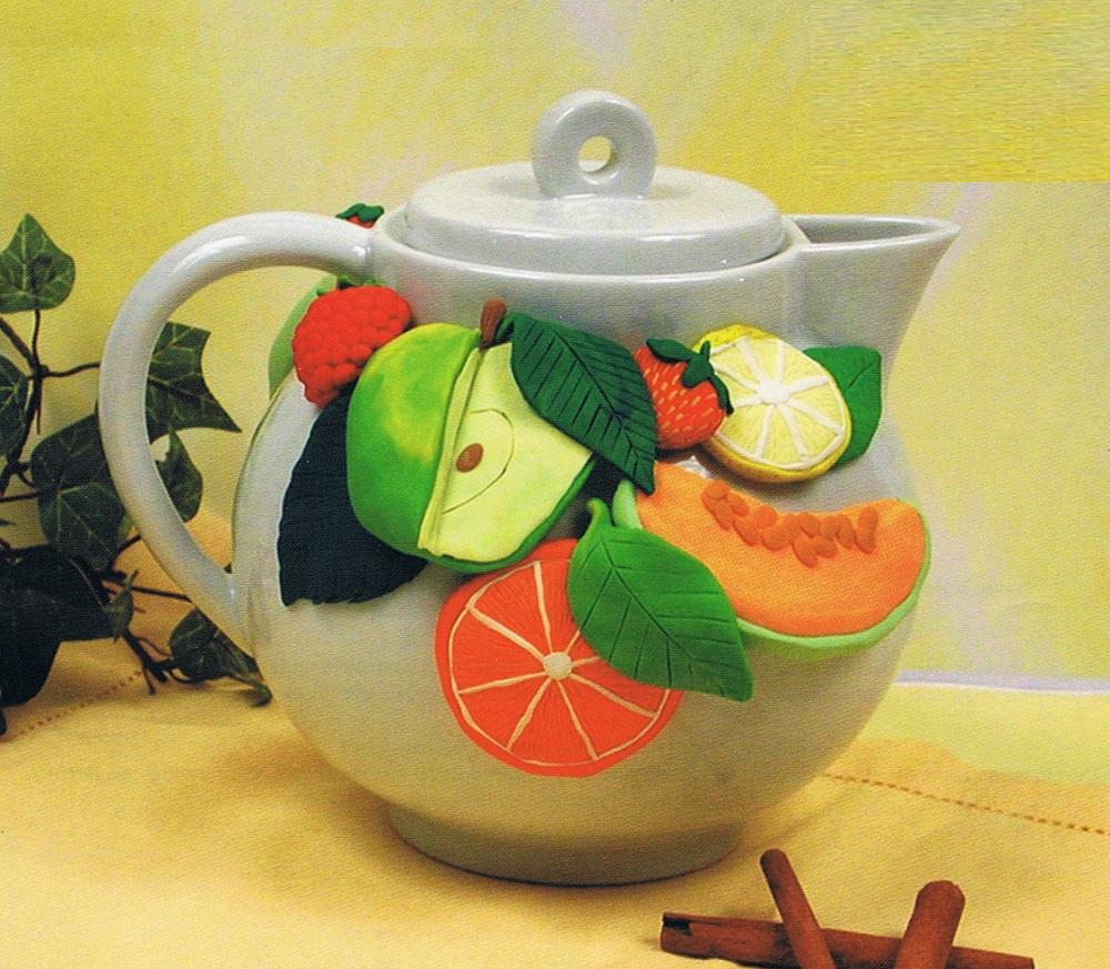 Как украсить чайник