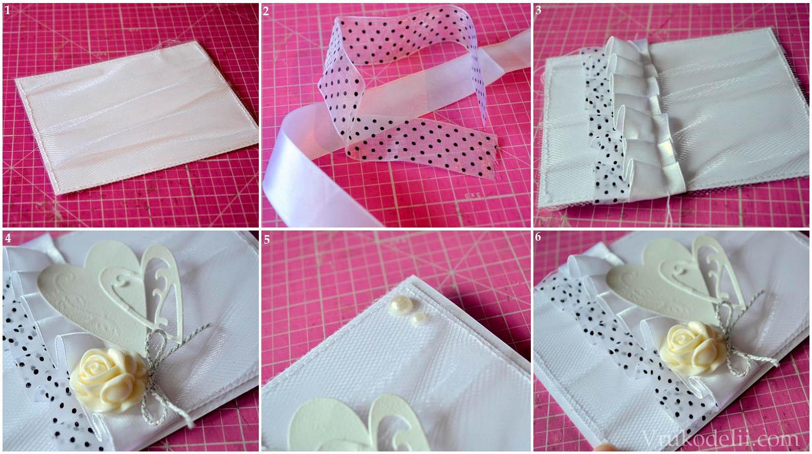 Как сделать открытку своими руками на свадьбу 12