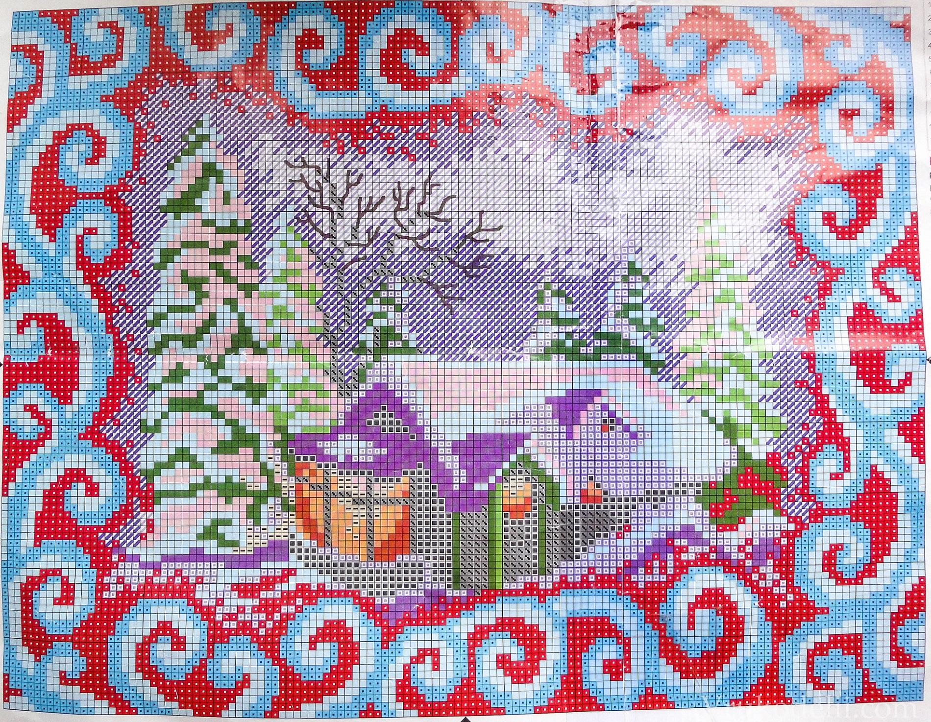 Схемы вышивки бисером по фото
