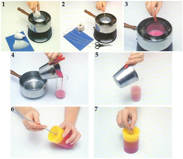 Видео как делать свечи своими руками в домашних условиях