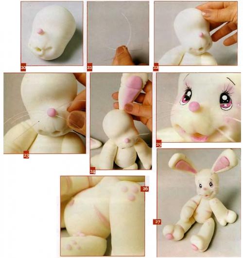Как сделать кролика
