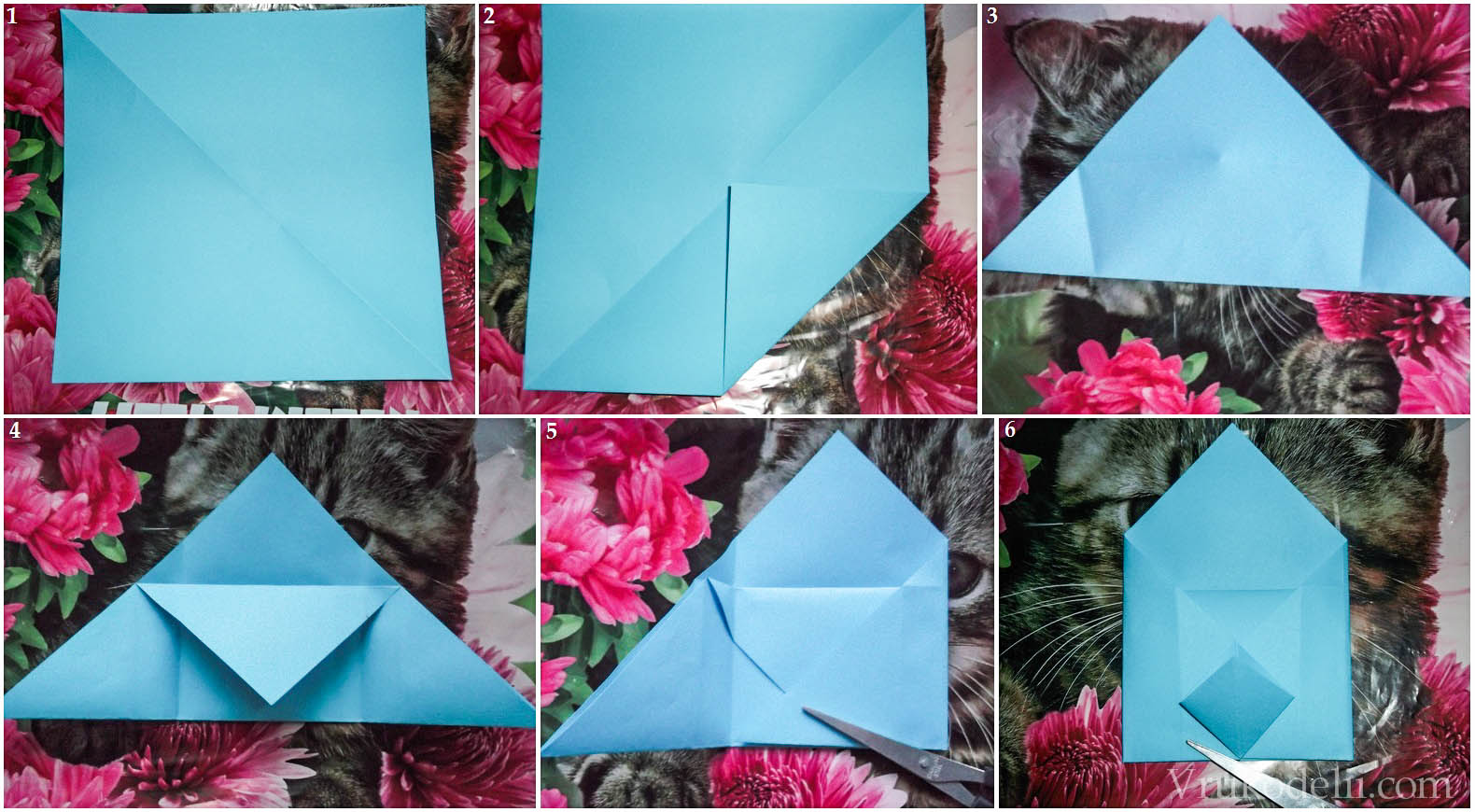 Как сделать большой конверт своими руками 52
