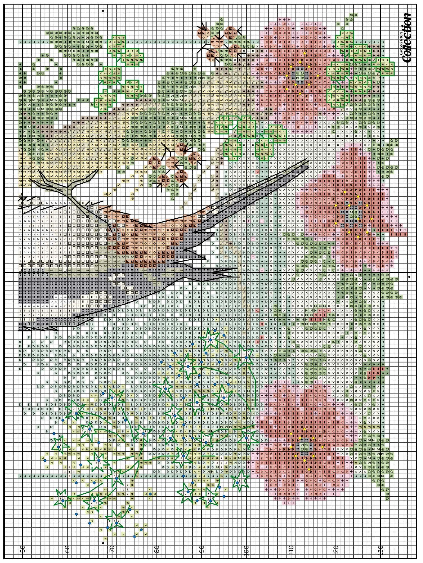 Схема вышивание картин