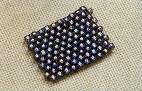 kirpichnyiy-stezhok-500x319 Кирпичное плетение Основы бисероплетения – Бисерок
