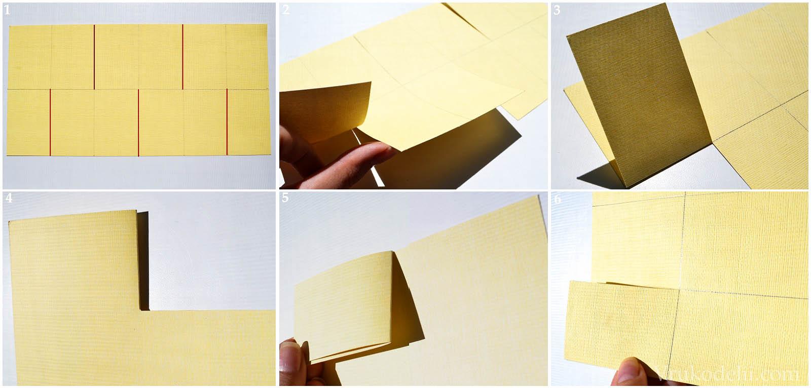 как соединить листы открытки зависит, прежде