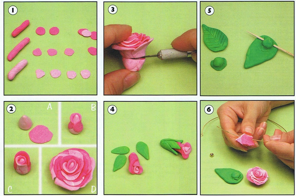 Поделки из пластилина детям пошагово